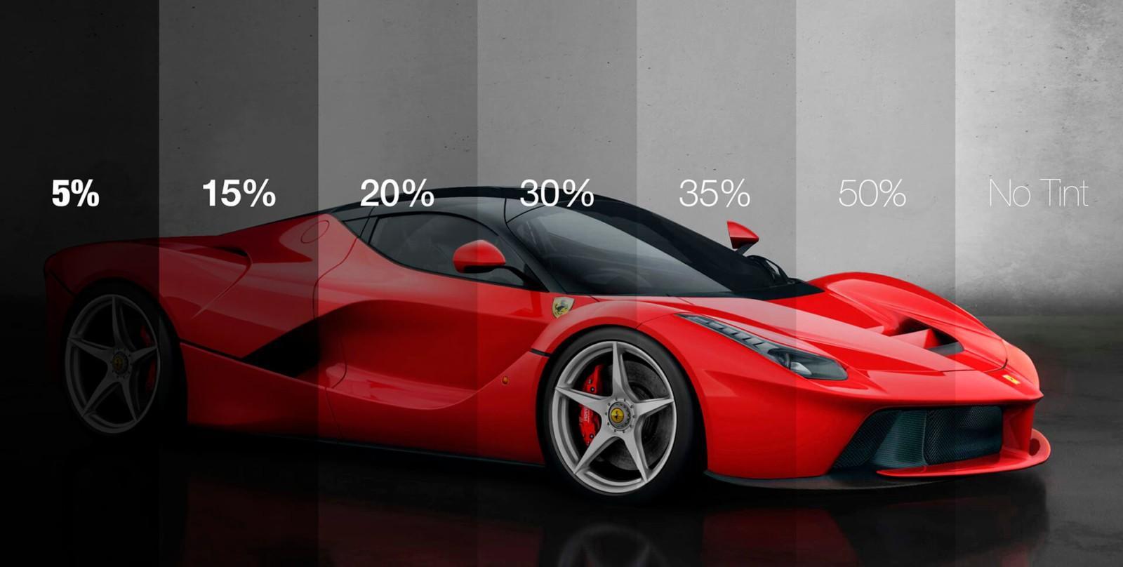 car red toning